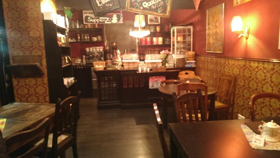Cafe Wohnzimmer Location